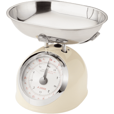 Judge Kitchen Traditional Scale - Cream