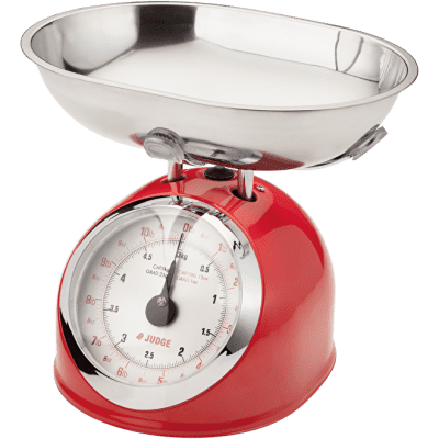 Judge Kitchen Traditional Scale - Red