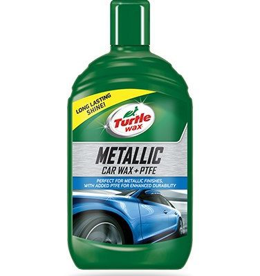 Turtle Wax Metallic Car Wax + PTFE - 500ml