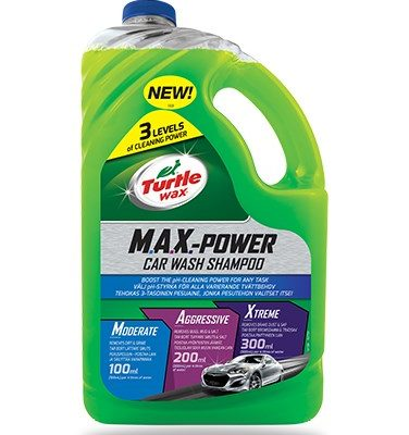 Turtle Wax M.A.X.-Power Car Wash Shampoo - 3L