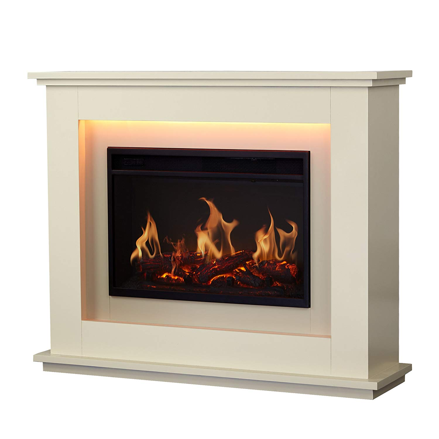 Warmlite Washington Fire Suite, 2000 W, Ivory