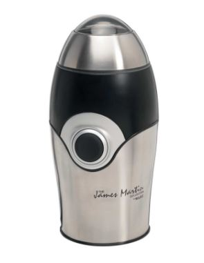 Wahl James Martin Mini Coffee Grinder Stainless Steel