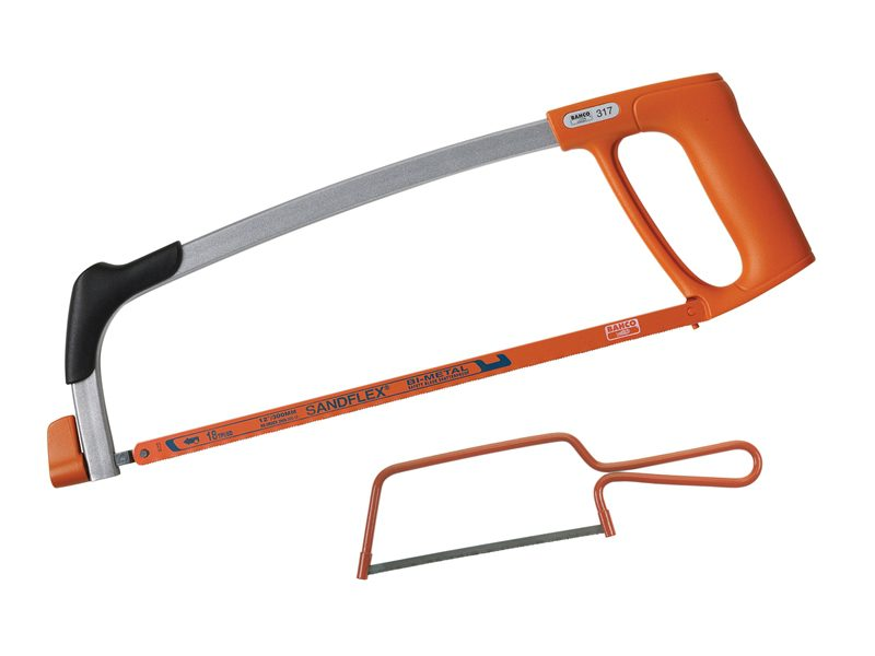 Bahco 317 Hacksaw 300mm (12in) & Junior Hacksaw