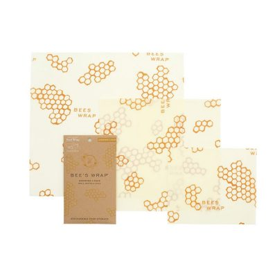 Bee's Wrap Reusable Food Wrap Assorted 3 Pack