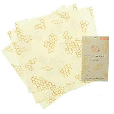Bee's Wrap Reusable Food Wrap 3 Pack Large