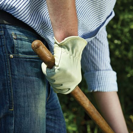 Briers Lined Hide Gardening Gloves Small