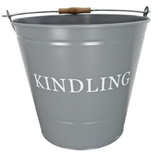 Manor Kindling Bucket Charcoal