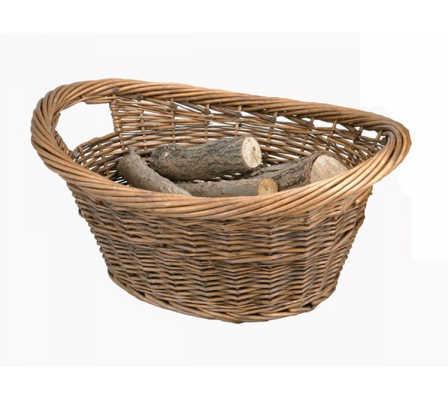 Manor Log Basket Cradle Oval