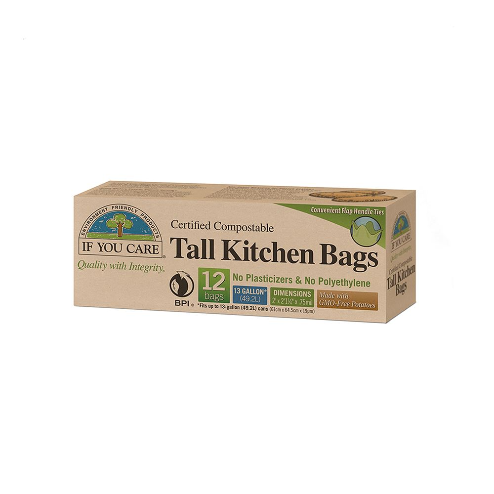 If You Care Compostable Tall Kitchen Bags