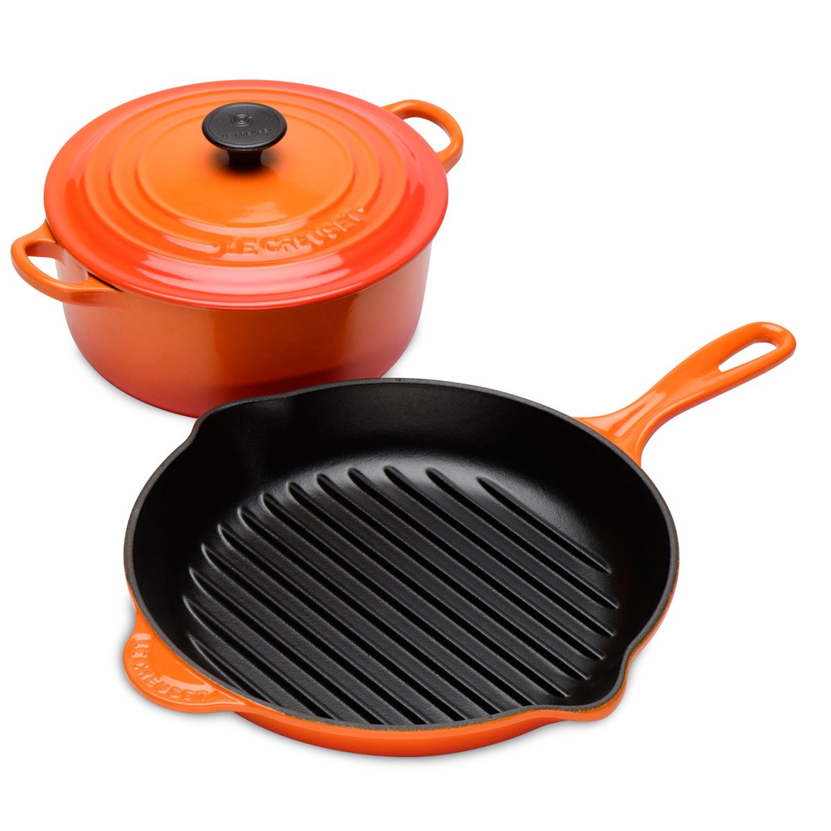 Casserole Pans Home, Furniture & Diy Le Creuset 26cm Round Classic Cast Iron Casserole Dish Volcanic Orange Brand New