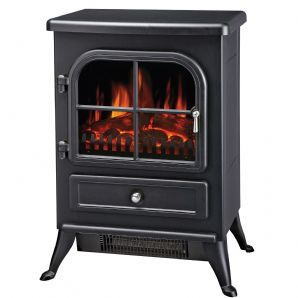Manor Vista Stove Black